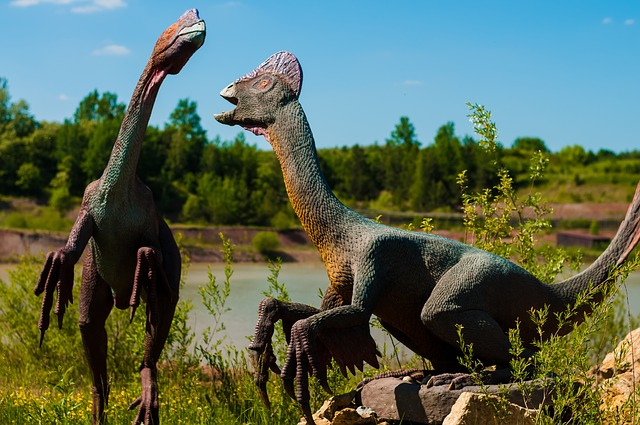 pár dinosaurů