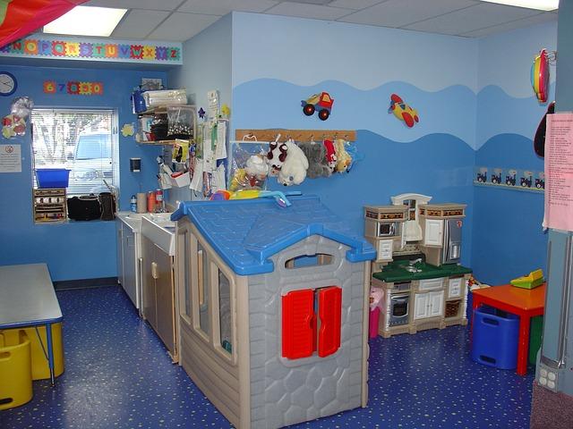 kuchyňka pro děti v pokoji
