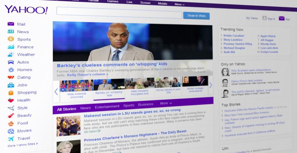 web Yahoo