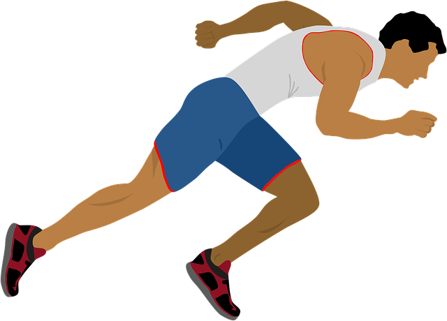 ilustrace běhu