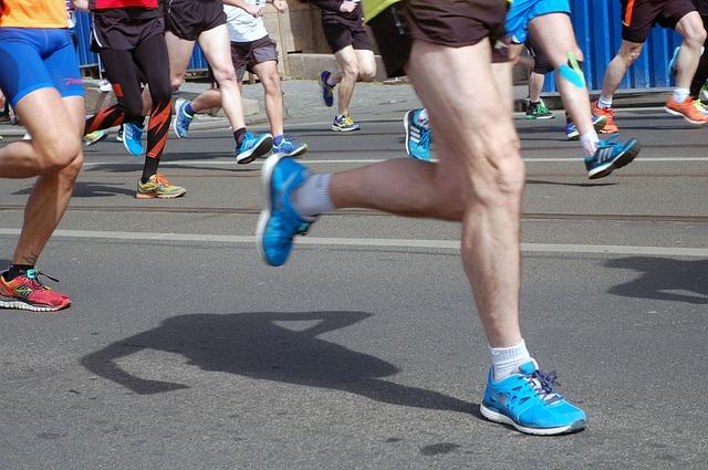 závody v běhání