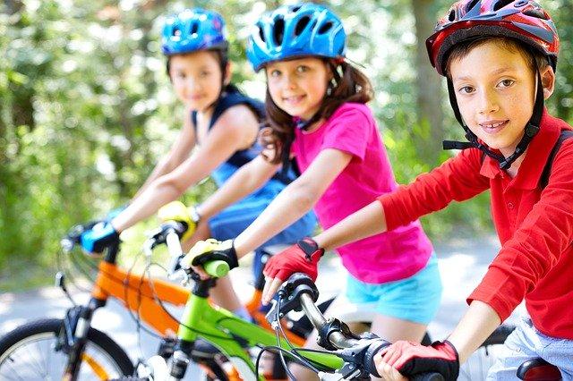 děti na kola