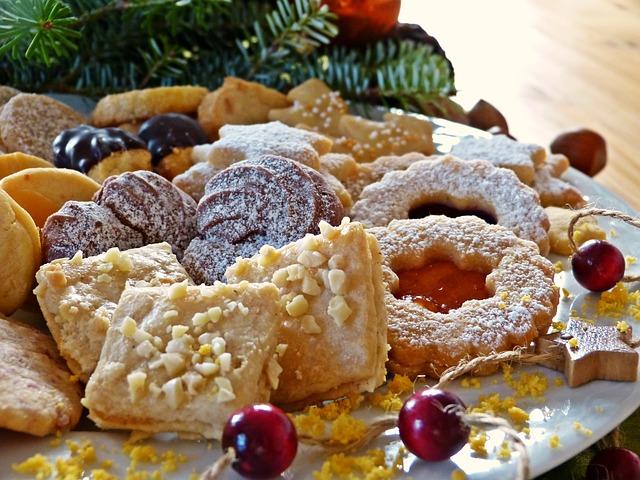 Vánoční cukroví ze špaldové mouky